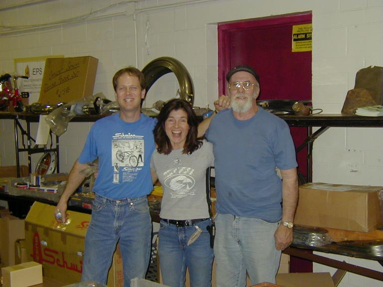 Jerry, Lisa and Harv